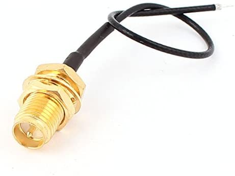 DealMux RF1.13 Soldadura Wire RP-SMA-K Antena WiFi Pigtail ...