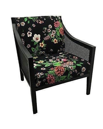 (Black Garden Cushion Cover)