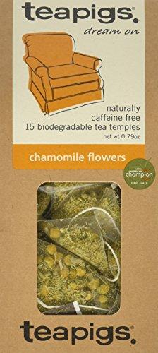 teapigs Chamomile Flowers Tea, 0.79 Ounce
