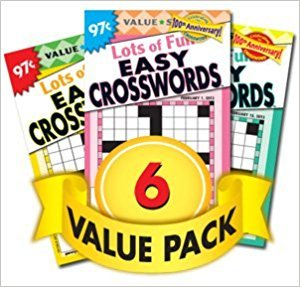 Favorite Crossword Puzzles - 6 Pack