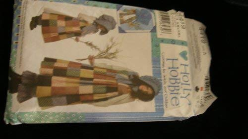 Simplicity #4419 Holly Hobbie Pattern -