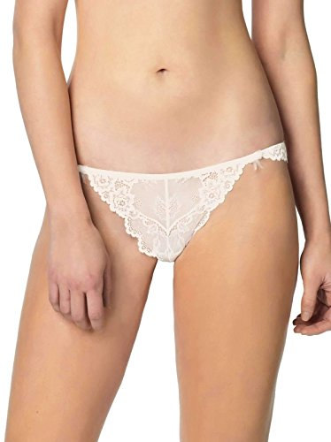 Jezebel Women's Caress Too Thong, Champagne, Large