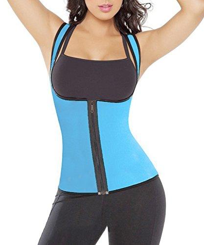 clivia-womens-sport-neoprene-tank-top-vest-waist-trainer-girdle-reversible-bustiers-xl-blue