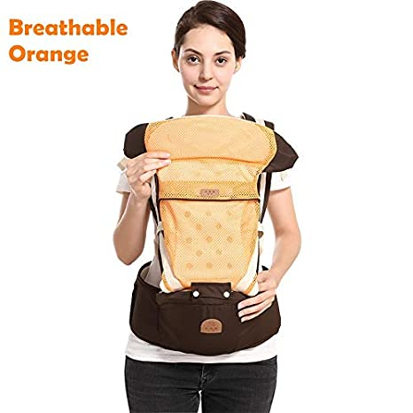 Activity & Gear Comfortable Breathable Baby Carrier Sling Cotton Hipseat Nursing Cover Infant Sling Soft Natural Wrap Ergonomic Carrier Backpack Large Assortment Backpacks & Carriers