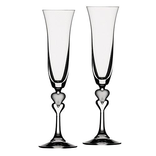 Spiegelau Sweetheart Champagne Flute, Set of 2 ()