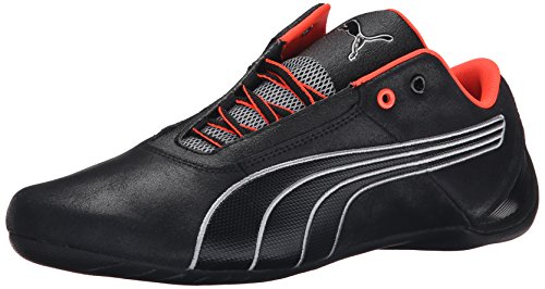 Racing Shoes Puma - PUMA Men's Futurecats 1Nightcat Driving Shoe, Black/Black/Puma Silver, 10.5 M US