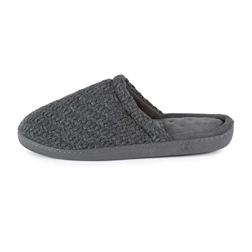 Totes - Zapatillas de estar por casa para hombre gris gris Talla única