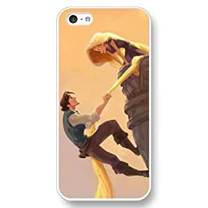 Disney Tangled Princess Rapunzel Frosted Phone Case; Cover For Samsung Galaxy S5 Cover - Black