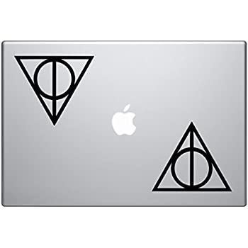 Amazon Bargain Max Decals Deathly Hallows Harry Potter 2