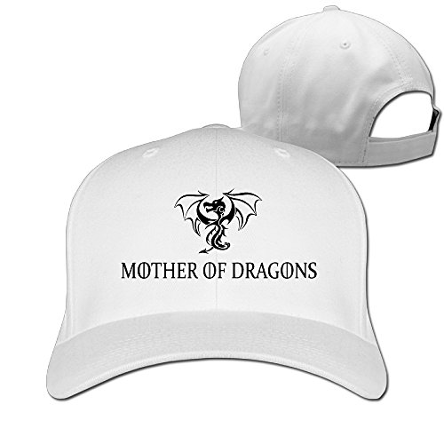 DETED Mother Of Dragons Game Of Thrones Golf Cap Hat White