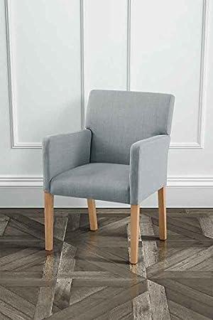 My Furniture Chaise De Salle A Manger Tapissee Haut De Gamme Avec