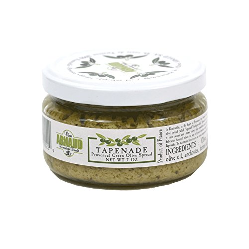 Tapenade - Provencal Green Olive Spread - 1 jar - 7 oz (Green Olive Tapenade)
