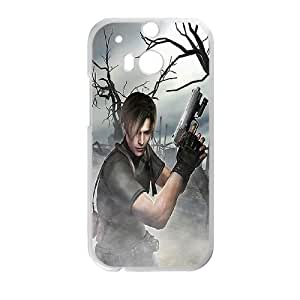 HTC One M8 phone cases White Resident Evil cell phone cases Beautiful gifts UREN2424572