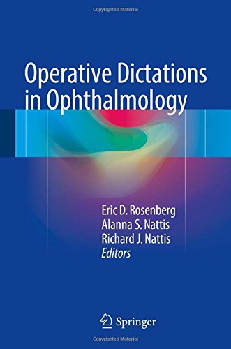 Operative Dictations in Ophthalmology