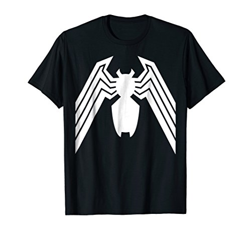 Marvel Venom Classic Spider Symbol Halloween Graphic