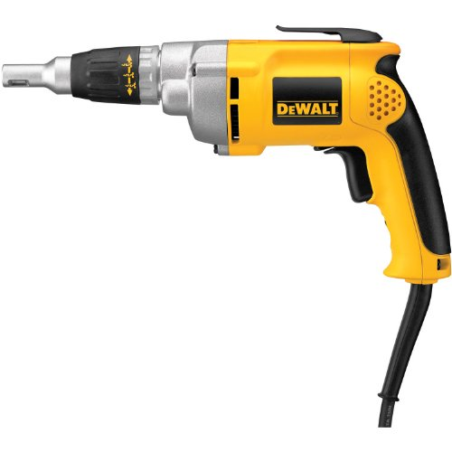 DEWALT DW276 6.5-Amp Variable-Speed Reversing Drywall Screwdriver by DEWALT