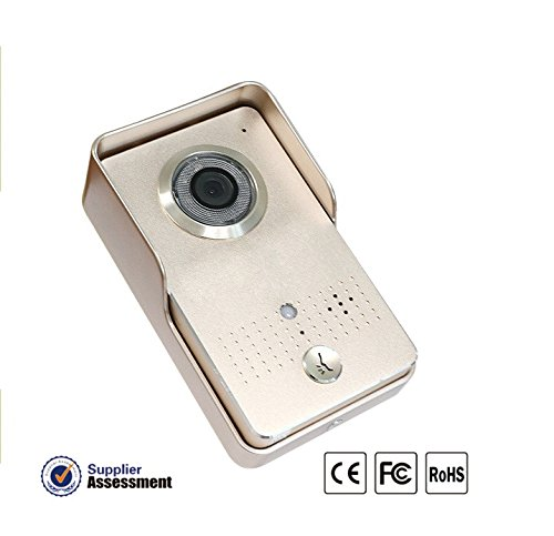 Riorand tft lcd digital door viewer doorbell security for Door viewer camera