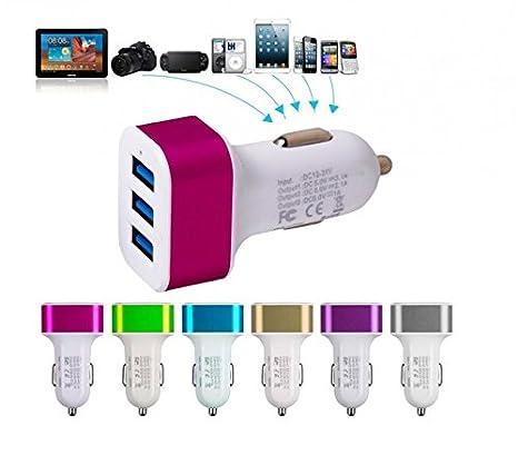 Cargador 3 en 1 - (3 puertos USB) para el móvil y ...