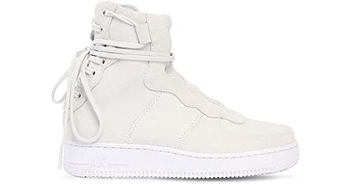 7193767a22d8 Nike Women s AF1 Rebel XX Fashion Sneaker Off White Light Silver AO1525 100  (US