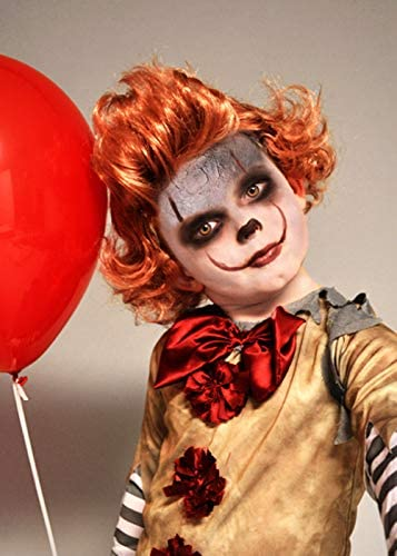 MAGICBOX Nuovo Design per Bambini It Clown Style Ginger Wig
