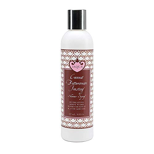 - Jaqua Sulfate-Free Hydrating Shower Syrup Body & Bath Wash - Coconut Buttercream Frosting