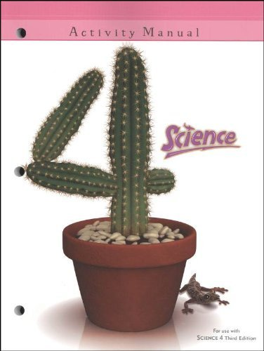 Science 4 Student Activity Manual 3rd Edition