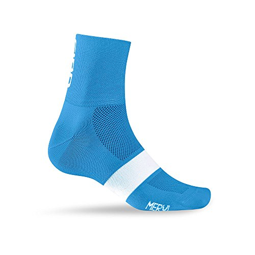 Giro Classic Racer Socks Blue Jewel/White Large from Giro