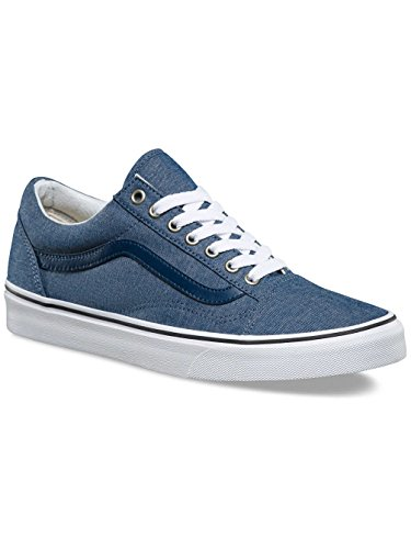 Skool Adulte Chambray Vans Old Blue Chaussures Mixte Fx5RwRqvO
