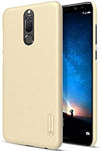 Back Cover By Nillkin Frosted Hard For Huawei Mate 10 Lite With Screen Guard - Gold