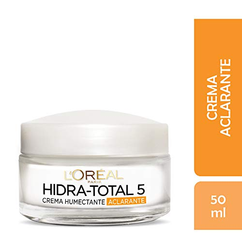 Crema antimanchas, Hidra Total 5, L'Oréal Paris, 50 ml