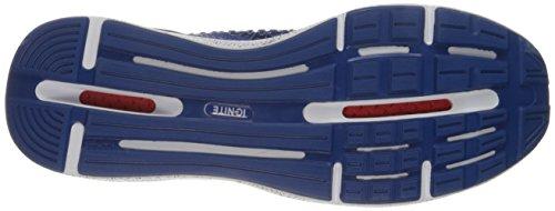 Scarpa cross-trainer da uomo Ignite Limitless Snow Splatter, True Blue, 11,5 M US