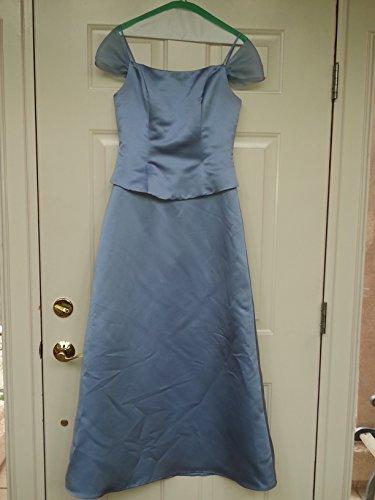 (Ginnis Fashion Periwinkle Dress Size 8)