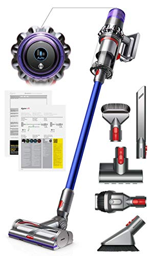 Dyson V11 Torque Drive Handheld Portable Stick Vacuum Cleaner with Manufacturer's Warranty – Includes Mini Motorized Tool + Combination Tool + Crevice Tool + Soft Dusting Brush and Stiff Bristle Brush