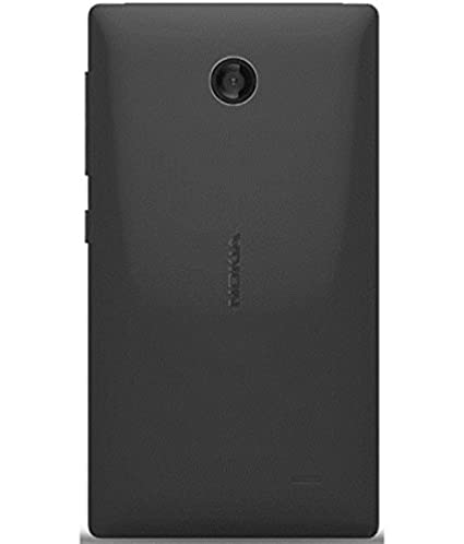 cheap for discount c9bac ee724 BMY Mobile Point For Nokia X Back Cover, Black Colour: Amazon.in ...