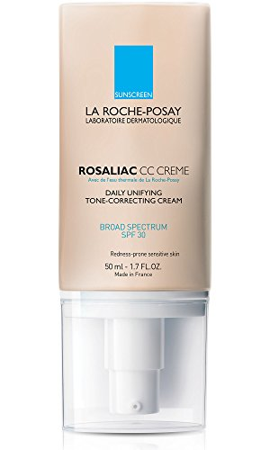 La Roche-Posay Rosaliac CC Cream with SPF 30, 1.7 Fl. Oz. (Best Cc Cream For Redness)