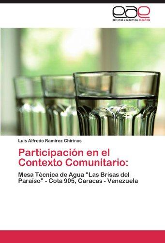(Participación en el Contexto Comunitario:: Mesa Técnica de Agua