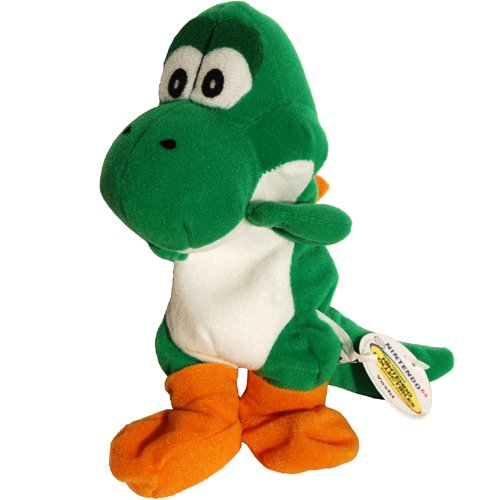Yoshi - Super Mario Nintendo 64 Bean Bag Plush by Nintendo