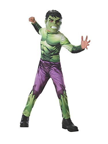 Rubies Marvel Universe Classic Collection Avengers Assemble Incredible Hulk Costume, Child Small ()