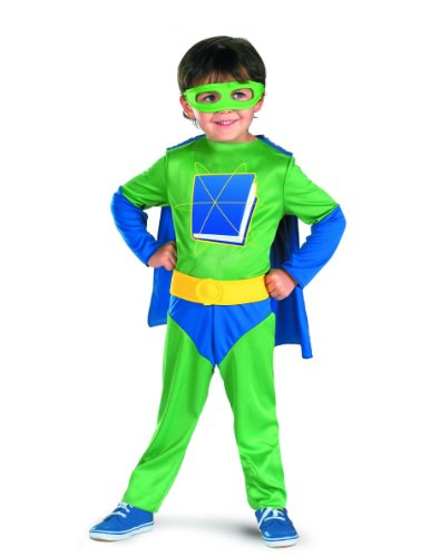 [Disguise Super Why Child Classic Costume - Size: Child (4-6)] (Classic Childrens Book Costumes)