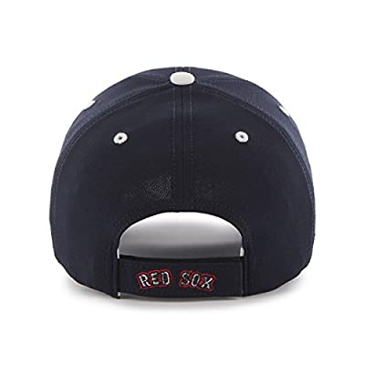 MLB Boston Red Sox Condenser Adjustable Hat, One Size, Navy-Alternate