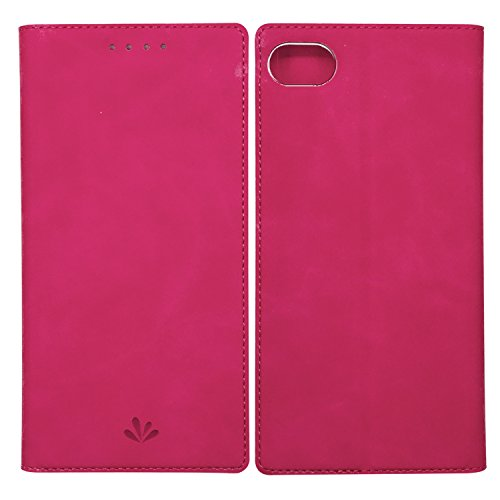 Simicoo Blackberry Motion Flip PU Leather Slim Fit case Card Holster Stand Magnetic Cover Clear Silicone TPU Full body Shockproof Pocket Thin Wallet Case for Blackberry Motion (Pink, Motion)