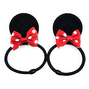 MeeTHan Mickey Mouse Minnie Mouse Ears Headbands Costume Accessory :M2 (MC Band)