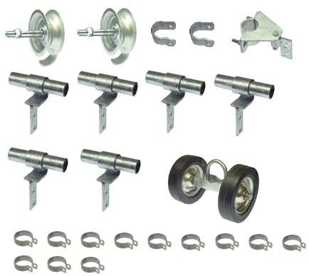 Fence Rolling Gate Hardware Kit - Residential - Chain Lin...