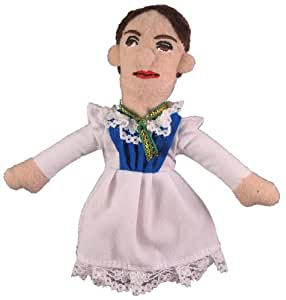 Emily Dickinson Finger Puppet and Refrigerator Magnet - By The Unemployed Philosophers Guild