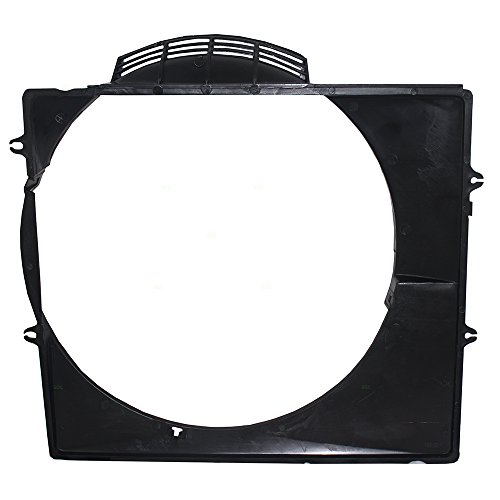 Fan Cyl 6 Cooling Radiator (Upper Radiator Cooling Fan Shroud Replacement for Toyota 4Runner 6 cyl 16711-65031 TO3110107)