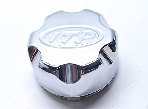 ITP C-Series Type 5, 6 and 7 Center Cap - 4/110 and 4/115 Bolt Pattern - Chrome Plastic P110BX -