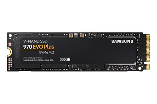 Samsung 970 EVO Plus Series - 500GB PCIe NVMe - M.2 Internal SSD (MZ-V7S500B/AM)