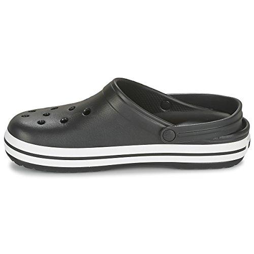 Chaussures Crocband Unisexes Crocs, Noir, M7w9