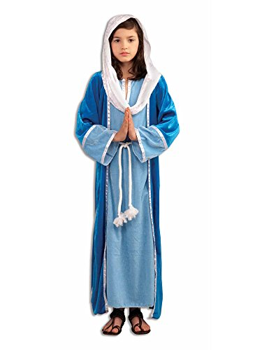Female Catholic Saints Costumes (Forum Novelties Biblical Times Deluxe Mary Costume, Child)