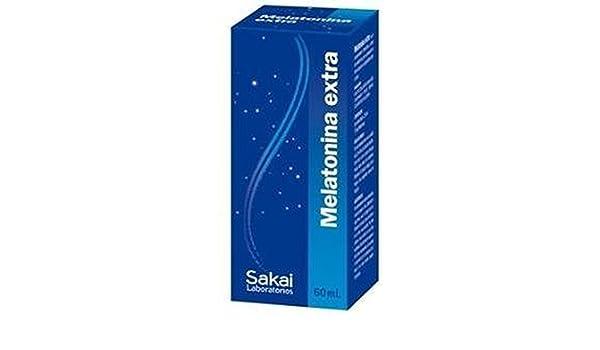 Melatonina Extra Gotas 60 ml de Sakai: Amazon.es: Salud y cuidado personal